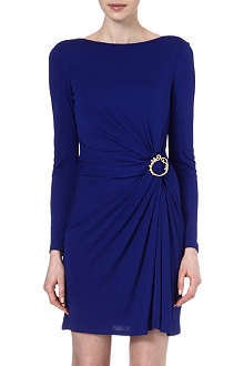 EMILIO PUCCI Brooch detail jersey dress