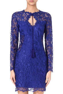 EMILIO PUCCI Lace tassel dress