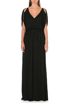 EMILIO PUCCI Floor length V-neck gown