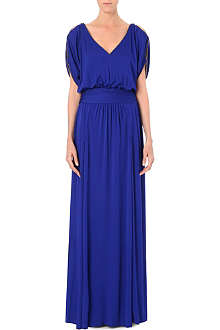 EMILIO PUCCI Rope-trimmed crepe gown