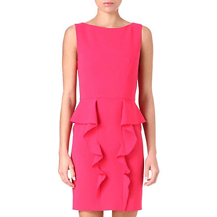 EMILIO PUCCI Ruffled shift dress (Pink