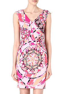 EMILIO PUCCI Stretch-cotton sleeveless dress