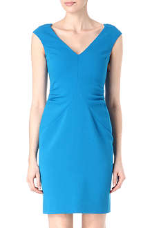 EMILIO PUCCI V-neck wool dress