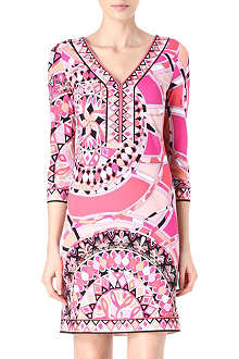 EMILIO PUCCI V-neck tunic dress