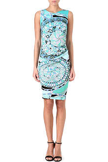 EMILIO PUCCI Sleeveless printed jersey dress