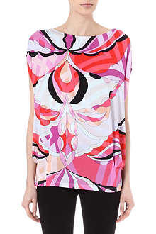 EMILIO PUCCI Printed loose-fit top