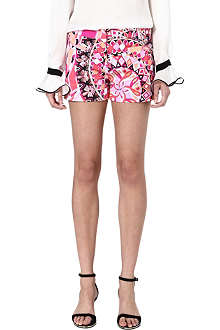 EMILIO PUCCI Printed stretch-cotton shorts