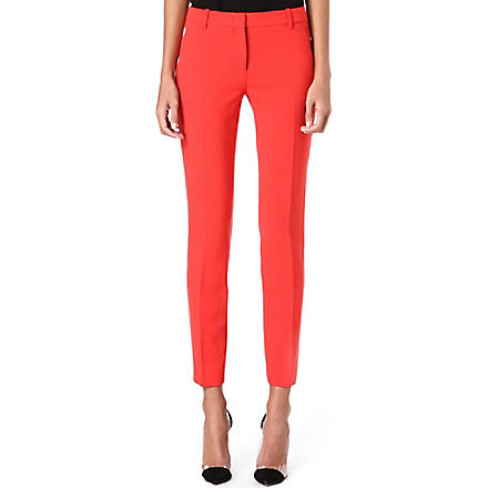 EMILIO PUCCI Slim-fit cropped trousers (Coral