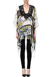 EMILIO PUCCI Beaded kaftan top