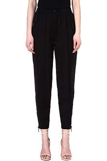 EMILIO PUCCI Silk jogging bottoms