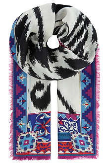 EMILIO PUCCI Patterned scarf