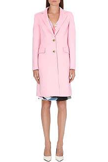 EMILIO PUCCI Classic wool-blend coat