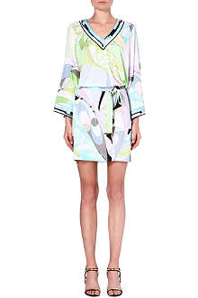 EMILIO PUCCI Printed long-sleeved tunic