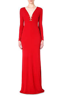 EMILIO PUCCI Chain-detail jersey gown
