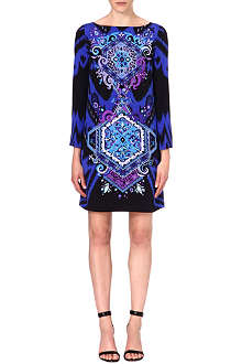 EMILIO PUCCI Patterned silk dress