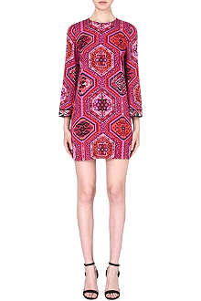 EMILIO PUCCI Printed stretch-silk dress