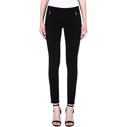 EMILIO PUCCI Zip-pocket leggings (Black
