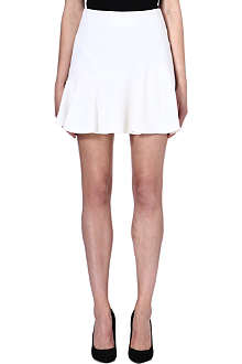 EMILIO PUCCI Flared stretch-wool skirt