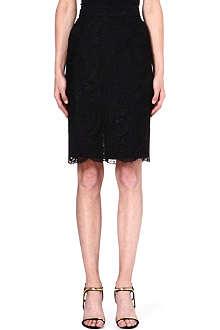 EMILIO PUCCI Lace pencil skirt