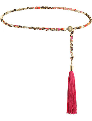 EMILIO PUCCI Chain and tassel belt