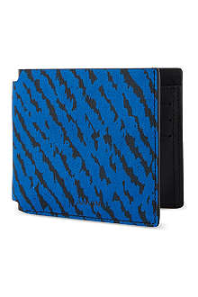 LANVIN Animal jacquard leather wallet