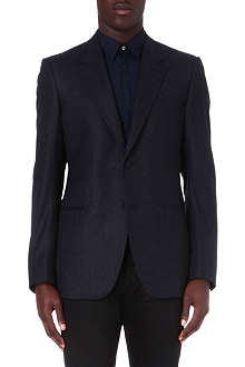 LANVIN Single-breasted wool blazer