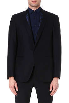 LANVIN Contrast-lapel dinner jacket