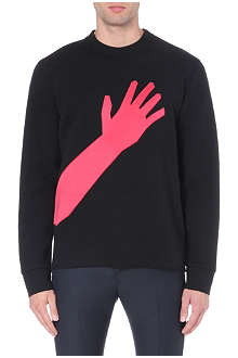 LANVIN Hand appliqué sweatshirt