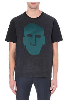 LANVIN Face appliqué t-shirt
