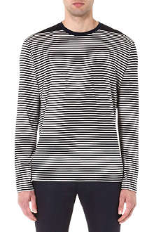LANVIN Striped long-sleeve top