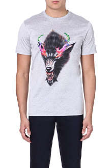 LANVIN Growling Wolf t-shirt