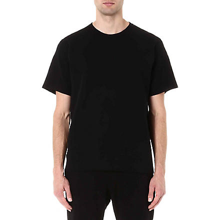 LANVIN Neoprene sweat t-shirt (Black