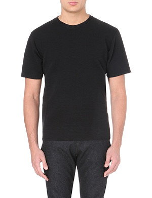 LANVIN Quilted jersey t-shirt