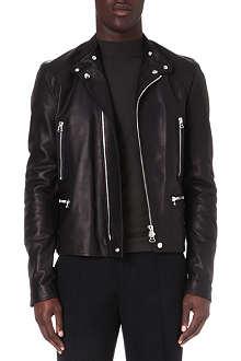 LANVIN Calfskin biker jacket