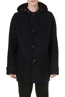 LANVIN Hooded wool duffle coat