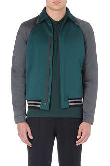 LANVIN Two-toned bomber jacket