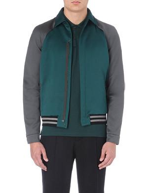 LANVIN Two-toned bomber jacket