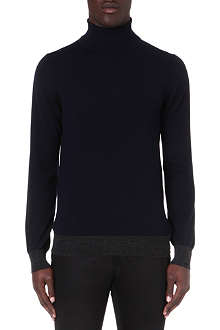 LANVIN Roll-neck wool jumper