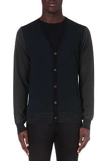 LANVIN Tri-colour cardigan