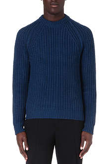 LANVIN Beaded rib-knit jumper