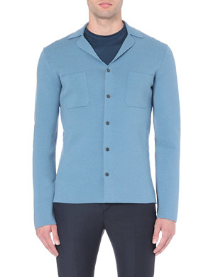 LANVIN Slim-fit knitted cardigan