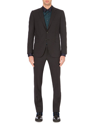 LANVIN Black Attitude wool suit