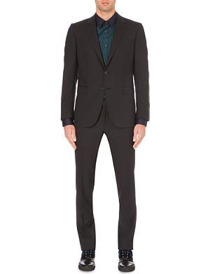 LANVIN Black Attitude wool suit