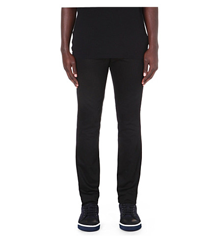LANVIN Slim-fit chinos (Black