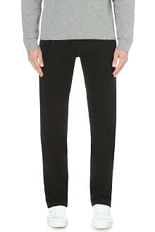 LANVIN Zip-pocket jersey jogging bottoms