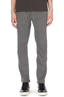 LANVIN Panelled wool-blend jogging bottoms