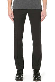 LANVIN Slim-fit wool-blend trousers