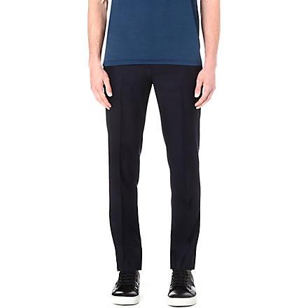 LANVIN Slim-fit trousers (Navy