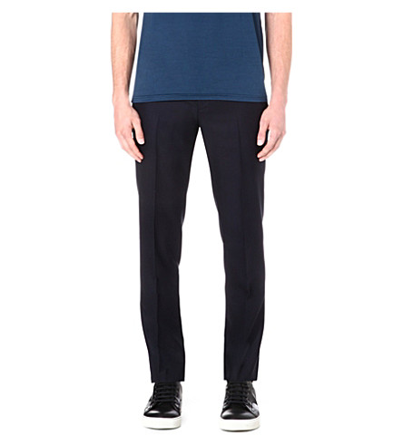 LANVIN Slim-fit trousers (Navy