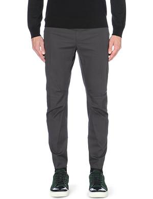 LANVIN New Biker cotton trousers